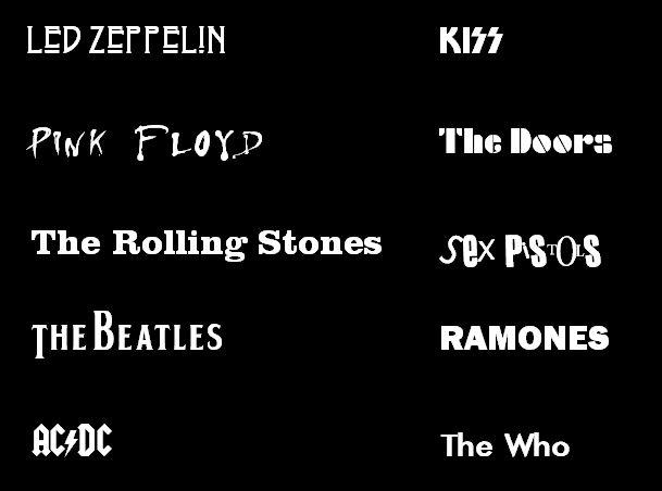 music typog